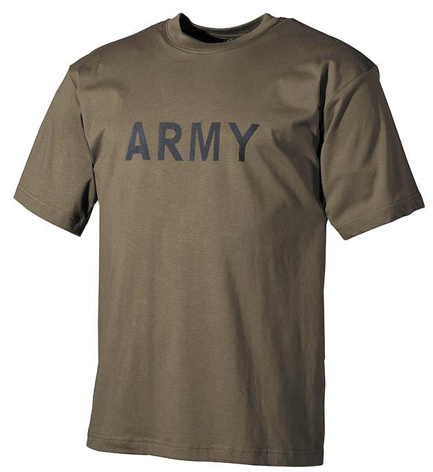 T-Shirt, bedruckt, Army,