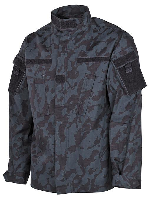 Veste de combat us acu camouflage nuit tissu coton ripstop - Deco kamer truc ...