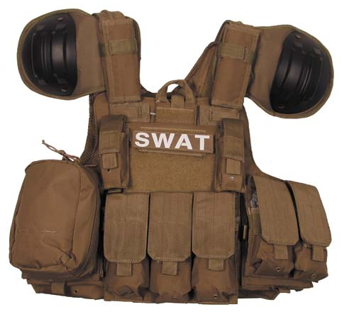 gilet de combat coyote systeme molle protections epaules. Black Bedroom Furniture Sets. Home Design Ideas