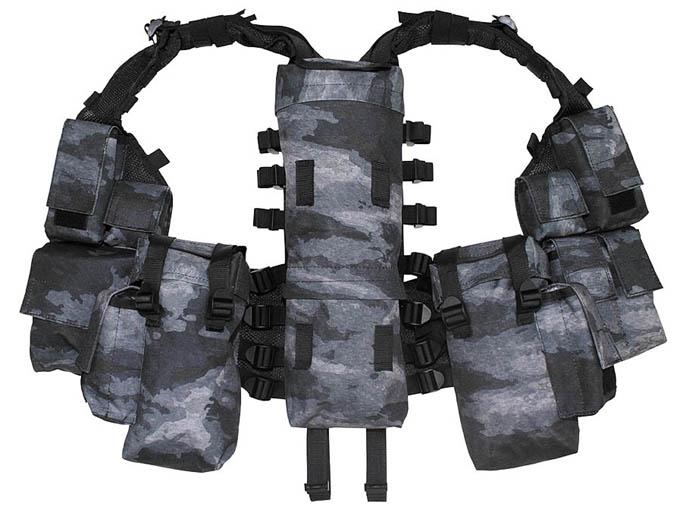 US Tactical Combat Weste Molle light HDT camouflage FG Vest Bekleidung & Schutzausrüstung Airsoft