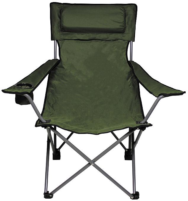 Chaise camping pliable kaki chaises 2908643 for Chaise kaki
