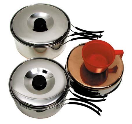 ustensiles batterie de cuisine camping 18 x 18 x accessoires divers 2910316. Black Bedroom Furniture Sets. Home Design Ideas