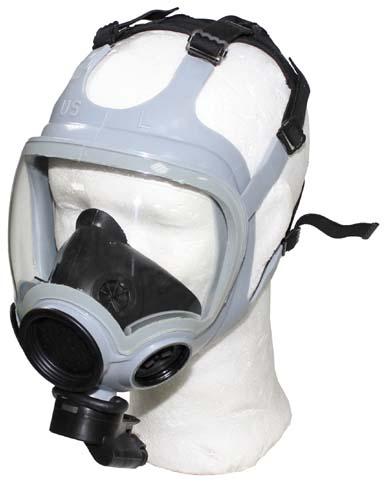 US Schutzmaske, MCU-2/P, grau,