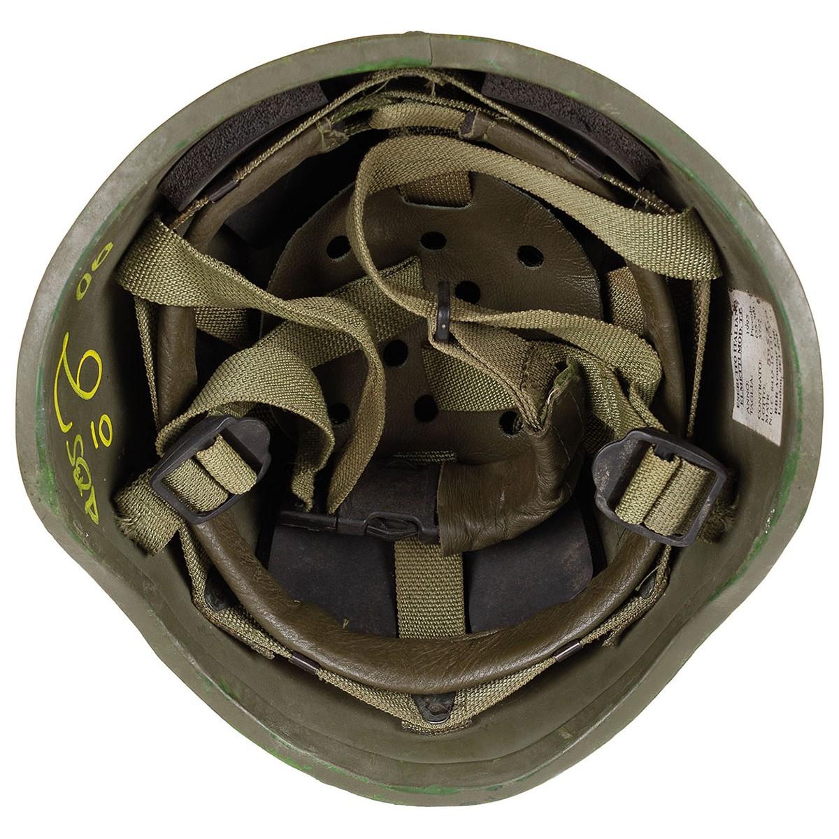 Italienischer Helm Ballistik T.P. oliv